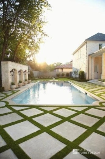 Perfect Backyard Home Design Ideas With Swimming Pool 16