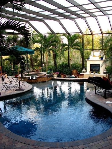 Perfect Backyard Home Design Ideas With Swimming Pool 18