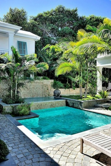 Perfect Backyard Home Design Ideas With Swimming Pool 27