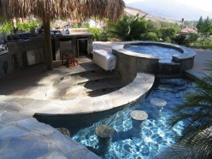Perfect Backyard Home Design Ideas With Swimming Pool 32