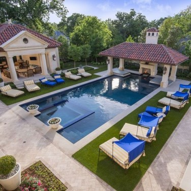 Perfect Backyard Home Design Ideas With Swimming Pool 38