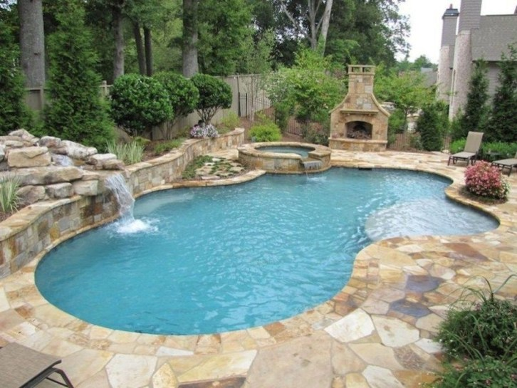 Perfect Backyard Home Design Ideas With Swimming Pool 44