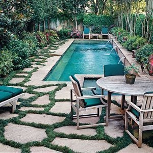 Perfect Backyard Home Design Ideas With Swimming Pool 49