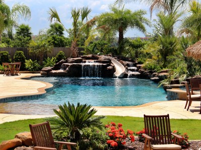 Perfect Backyard Home Design Ideas With Swimming Pool 50