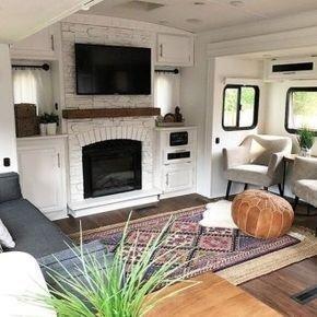 Captivating Farmhouse Style Decor Ideas For Rv Makeover To Tryl 03