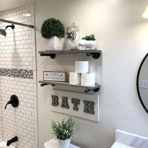 Comfy Bathroom Decor Ideas To Try This Year 28