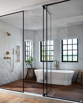 Comfy Bathroom Decor Ideas To Try This Year 42