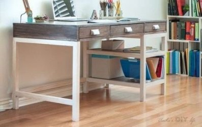 Creative Farmhouse Desk Ideas For The Home Office To Try 10