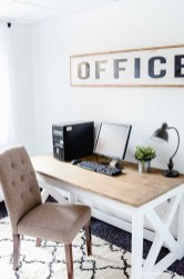 Creative Farmhouse Desk Ideas For The Home Office To Try 11