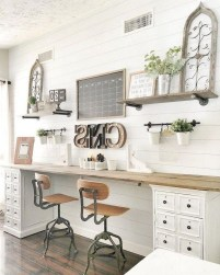 Creative Farmhouse Desk Ideas For The Home Office To Try 14