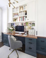 Creative Farmhouse Desk Ideas For The Home Office To Try 19