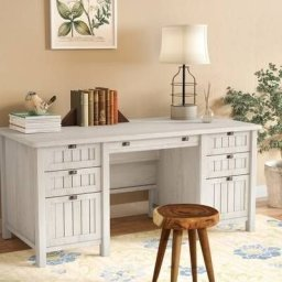 Creative Farmhouse Desk Ideas For The Home Office To Try 31