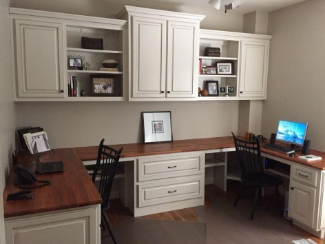 Creative Farmhouse Desk Ideas For The Home Office To Try 36