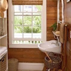 Elegant Bathroom Remodel Ideas With Stikwood That Looks Cool 03