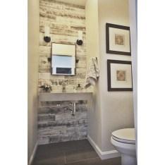 Elegant Bathroom Remodel Ideas With Stikwood That Looks Cool 04