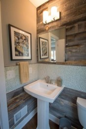 Elegant Bathroom Remodel Ideas With Stikwood That Looks Cool 19
