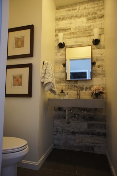Elegant Bathroom Remodel Ideas With Stikwood That Looks Cool 33