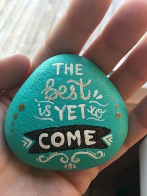 Fascinating Painted Rocks Quotes Design Ideas 01