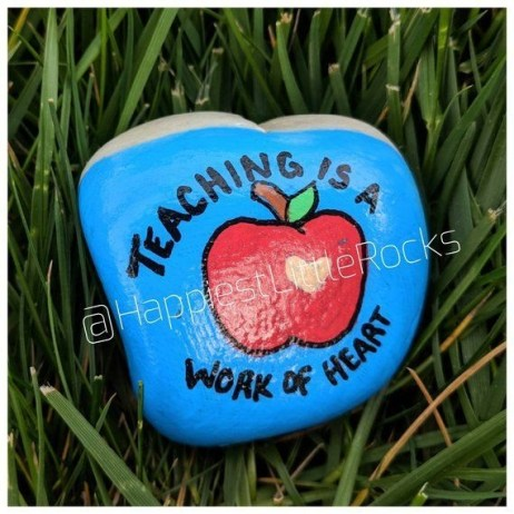 Fascinating Painted Rocks Quotes Design Ideas 29