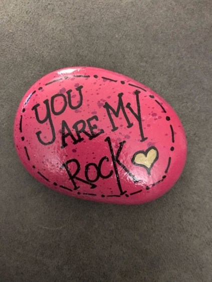Fascinating Painted Rocks Quotes Design Ideas 45