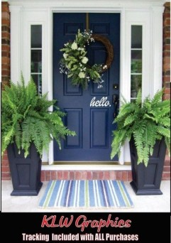 Lovely Summer Decorating Ideas For Front Porch 19