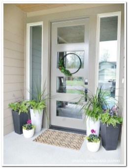 Lovely Summer Decorating Ideas For Front Porch 20