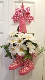 Pretty Summer Wreaths Decor Ideas That Looks Cool 04