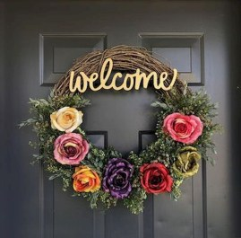 Pretty Summer Wreaths Decor Ideas That Looks Cool 19