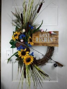 Pretty Summer Wreaths Decor Ideas That Looks Cool 25