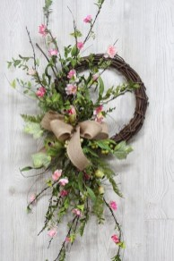 Pretty Summer Wreaths Decor Ideas That Looks Cool 30