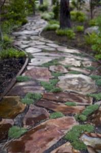 Rustic Garden Path Design Ideas To Copy Asap 05