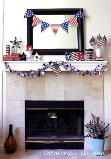 Unique Summer Mantel Decorating Ideas To Try 14