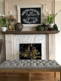 Unique Summer Mantel Decorating Ideas To Try 28