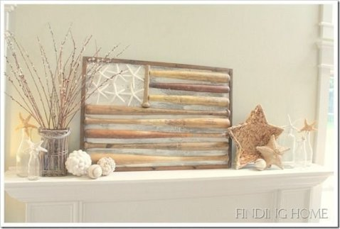 Unique Summer Mantel Decorating Ideas To Try 36