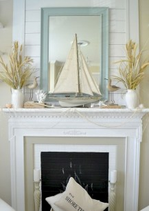 Unique Summer Mantel Decorating Ideas To Try 42