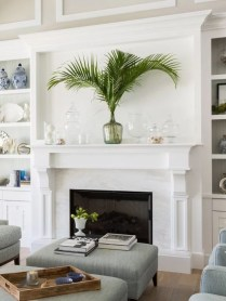 Unique Summer Mantel Decorating Ideas To Try 49
