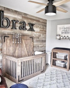 Unordinary Nursery Room Ideas For Baby Boy 07