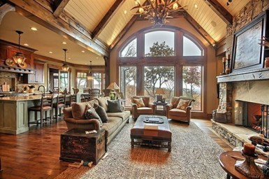 Wonderful Homes Plans Design Ideas With Log Cabin 02