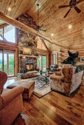 Wonderful Homes Plans Design Ideas With Log Cabin 03