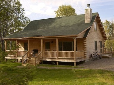 Wonderful Homes Plans Design Ideas With Log Cabin 08