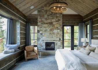 Wonderful Homes Plans Design Ideas With Log Cabin 17