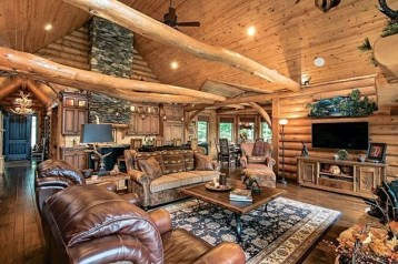 Wonderful Homes Plans Design Ideas With Log Cabin 39