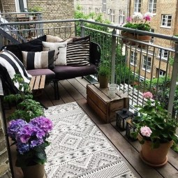Adorable Balcony Design Ideas You Must Try 20