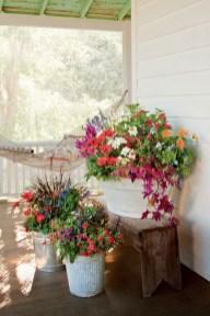 Adorable Green Porch Design Ideas For You 03