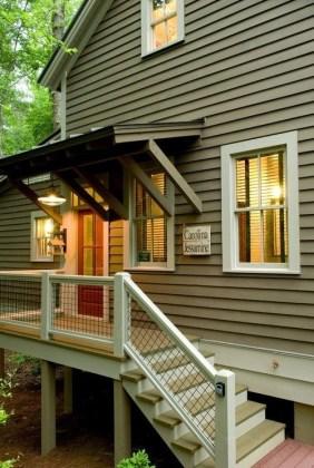 Adorable Green Porch Design Ideas For You 06