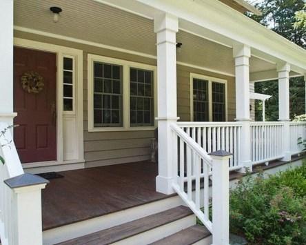 Adorable Green Porch Design Ideas For You 20