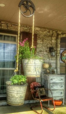 Adorable Green Porch Design Ideas For You 39