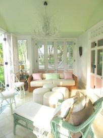 Adorable Green Porch Design Ideas For You 46