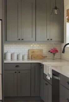 Adorable Small Kitchen Design Ideas For You 27