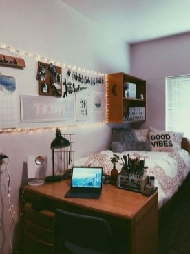 Beautiful Dorm Room Organization Ideas To Try Asap 26